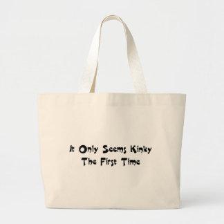 Kinky Jumbo Tote Bag
