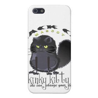 Kinky Kitty Black Cat Speck Case iPhone 5 Case