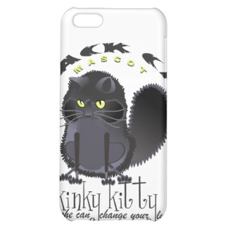 Kinky Kitty Black Cat Speck Case iPhone 5C Case