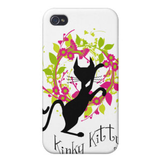 Kinky Kitty Garland Speck Case Covers For iPhone 4