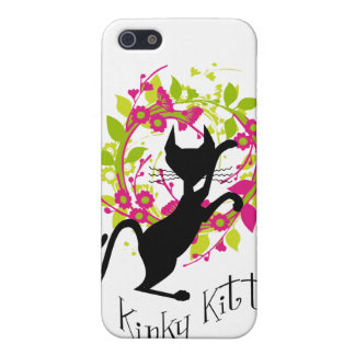 Kinky Kitty Garland Speck Case Covers For iPhone 5