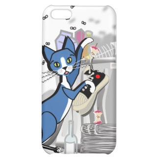 Kinky Kitty - Look who's coming for dinner Case Cover For iPhone 5C