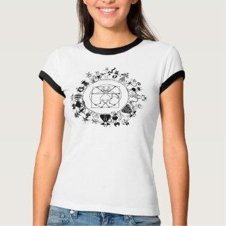 Kinky Kitty Mandala T-Shirt