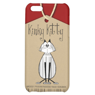 Kinky Kitty Tag Speck Case iPhone 5C Cases