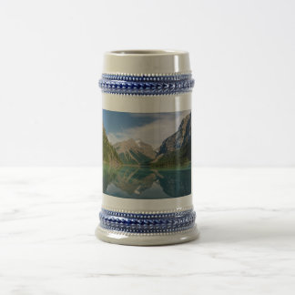 Kinney Lake and Mount Whitehorn near Mount Robson Beer Stein