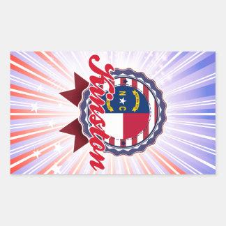 Kinston, NC Rectangular Sticker