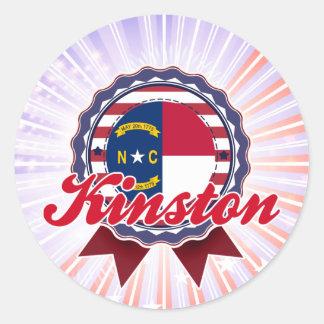 Kinston, NC Classic Round Sticker