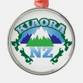 KIORA Kiwi New Zealand hello Christmas Ornament