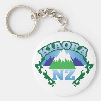 KIORA Kiwi New Zealand hello Keychains