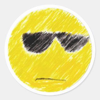 Kira: Round Sticker