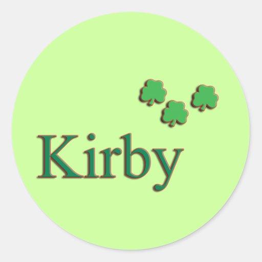 Kirby Family Sticker