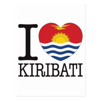 Kiribat Love v2 Post Card
