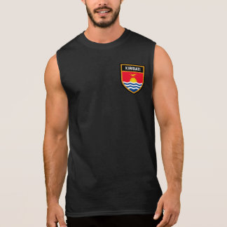 Kiribati Flag Sleeveless Shirt