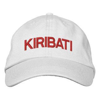 Kiribati* Personalized Hat Embroidered Cap