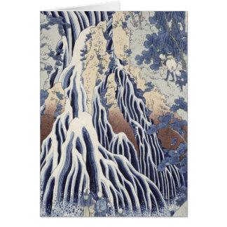 Kirifuri Fall on Kurokami Mount Card
