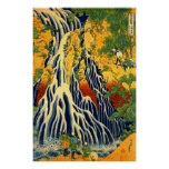 Kirifuri Waterfall at Mount Kurokami in Shimotsuke Poster