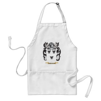 Kirkham Coat of Arms Family Crest Aprons