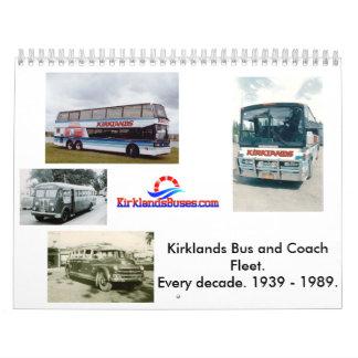 Kirklands Bus and Coach Fleet Calendar