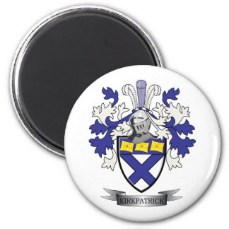 Kirkpatrick Family Crest Coat of Arms Magnet