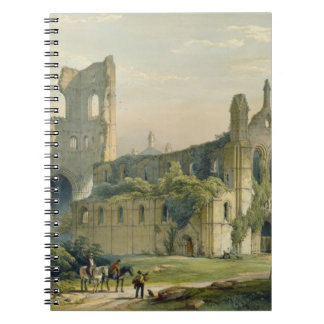 Kirkstall Abbey from the North West, from 'The Mon Spiral Note Book
