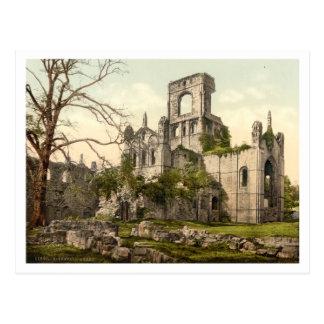 Kirkstall Abbey, Leeds, Yorkshire, England Postcard