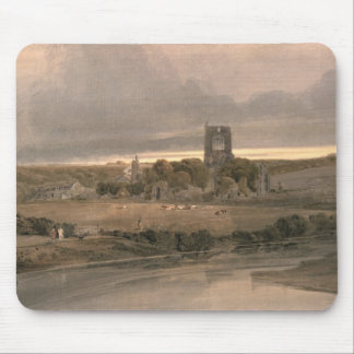 Kirkstall Abbey, Yorkshire - Evening Mouse Mat