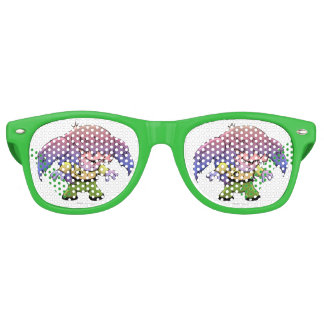 KIRKY FUNNY ALIEN Party Shades Sunglasses