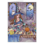 Kirra - Witch, Cat and Owl Card