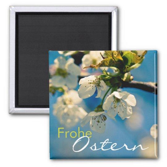 Kirschbluete • Ostermagnet Square Magnet