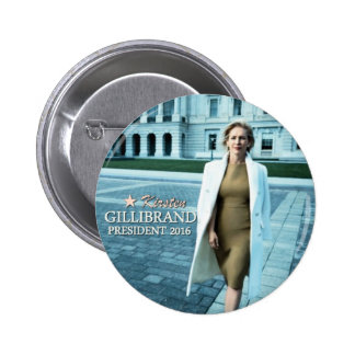 Kirsten Gillibrand for President 2016 6 Cm Round Badge