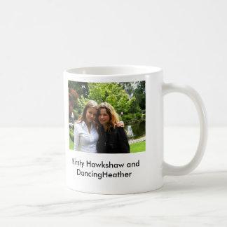 Kirsty Hawkshaw and DancingHeather cup Basic White Mug