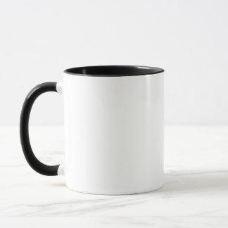 Kirsty name mug in black and white