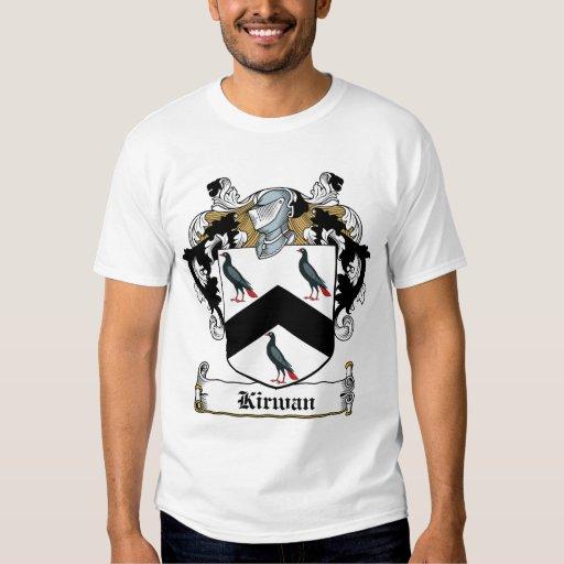 Kirwan Family Crest T-shirts