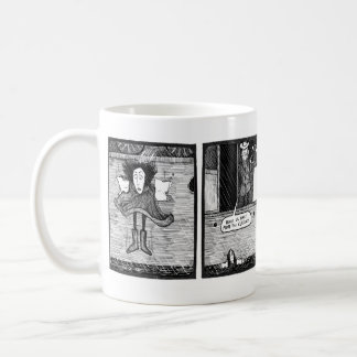 Ki's Plunge Mug - Art by Ben Wickey