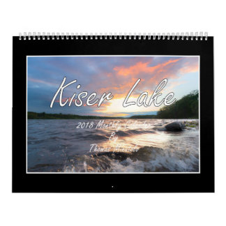 Kiser Lake 2018 Monthly Calendar By Tom Minutolo