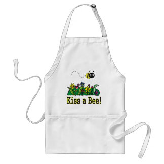 Kiss a Bee Standard Apron