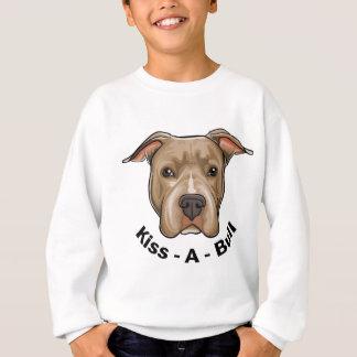 Kiss-A-Bull Pit bull Sweatshirt