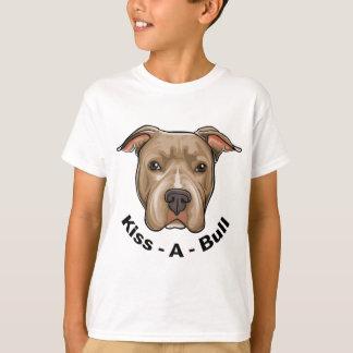 Kiss-A-Bull Pit bull T-Shirt