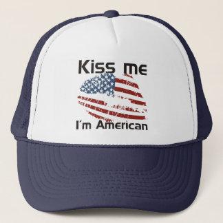 Kiss American Trucker Hat