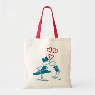 Kiss. Canvas Bags