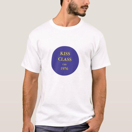 Kiss Class CHS 1976. Cadillac colours. Large logo. T-Shirt
