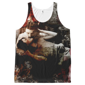 Kiss From A Rose All-Over Print Tank Top