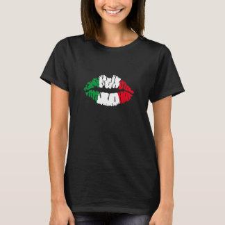 Kiss Italy flag T-Shirt
