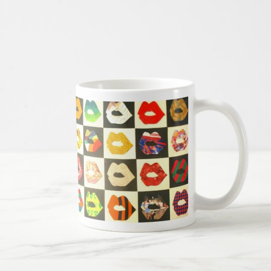 Kiss Kiss Coffee Mug