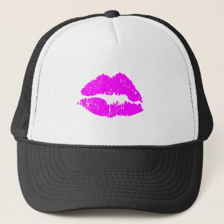 Kiss Lips Trucker Hat
