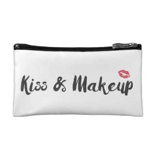 Kiss & Makeup cosmetic Bag
