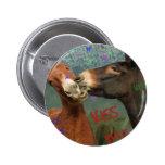 Kiss Me! 6 Cm Round Badge