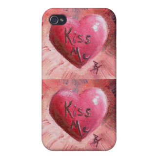 Kiss Me aceo, Kiss Me aceo iPhone 4 Case