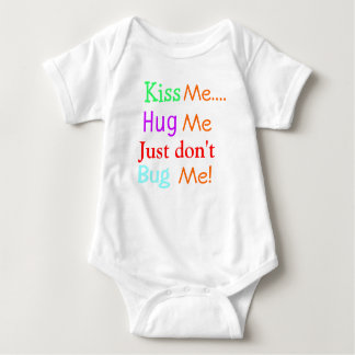 Kiss Me Cute Infant Baby grow Baby Bodysuit