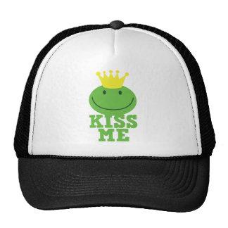 KISS ME FROG prince Cap